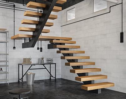 Stairs Renders