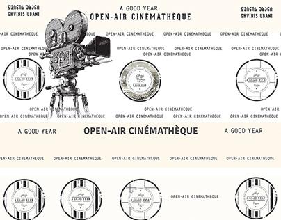 """Open-Air Cinematheque """"A Good Year"""" Idea&Design"""