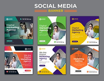 Digital Marketing Social Media Banner