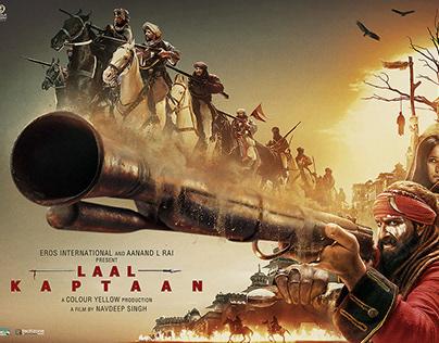 LAAL KAPTAAN 2nd poster