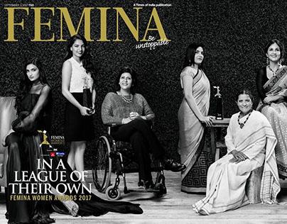 Femina Women's Award 2017 Cover (September 2017)