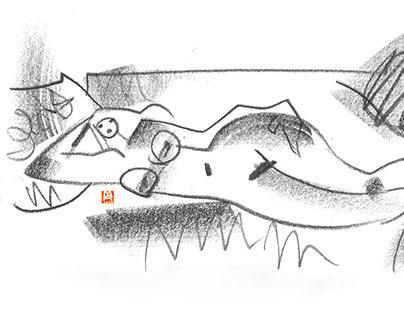 Life drawing XLVI_Celine