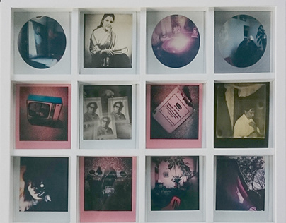Polaroid - pictures, projections and portraits​​​​​​​
