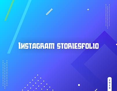 Instagram storiesfolio