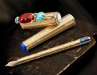 MONTBLANC® - High artistry Egyptomania pens