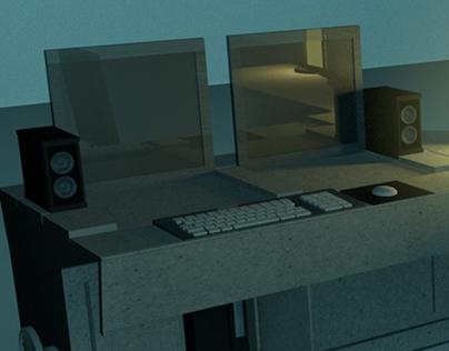 Furniture Concept: Computer Desk