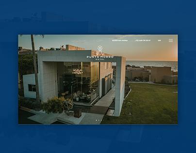 Hotel Punta Morro - Website Design & Brand Identity