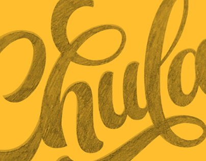 Chula lettering logo