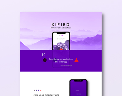Xified - iPhone X Inspired Design
