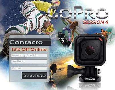 GoPro Landing Page