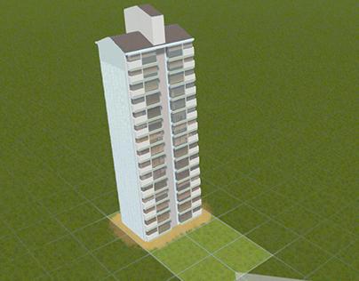 Cities Skylines - Korean Apartment 1990s Style