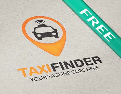 Taxi Finder (Free Logo)
