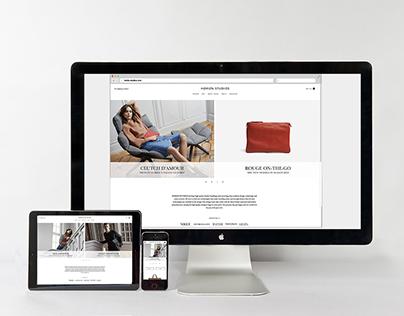 Ecommerce Website, Branding for HORIZN STUDIOS