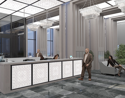 186 office design