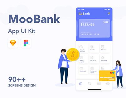 MooBank App UI Kit
