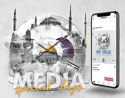 Social Media Design for KBD - Special Days