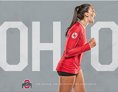 Ohio State Women's Volleyball Mini Posters