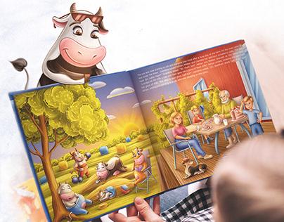 """Children's book """"FARM BOY"""""""