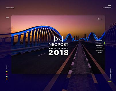 Neopost Annual report website