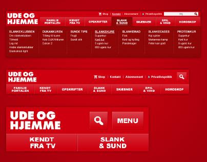 Website - Udeoghjemme.dk