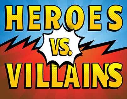 Heroes vs. Villains - Internal Company Halloween Party