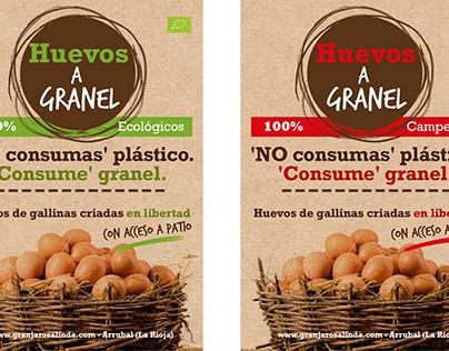 Expositor y carteles. Alimentación Ecológica