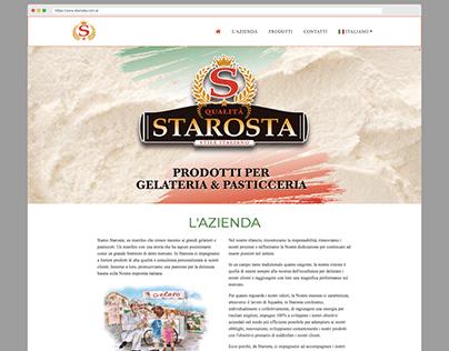 Starosta - Rediseño y maquetado web