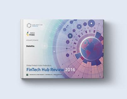 Fintech Hubs Report infographics