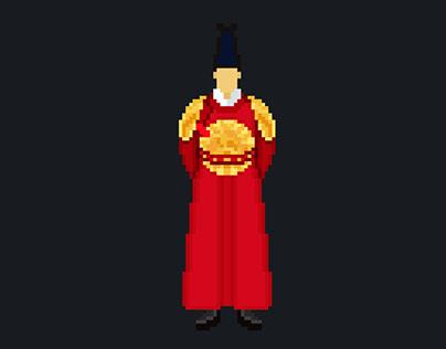 Hanbok.Pixel art