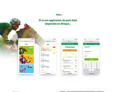 PMU mobile website