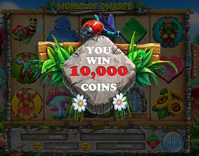 "Online slot machine for SALE – ""World of Dwarfs"""