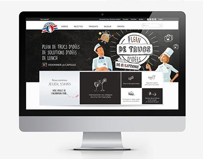 Olymel - Site web