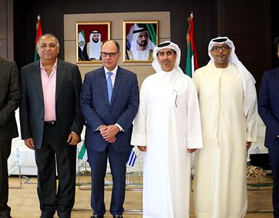 Greece Ambassador Visits Dubai Maritime City