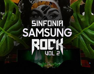 SINFONIA SAMSUNG ROCK / Colagem