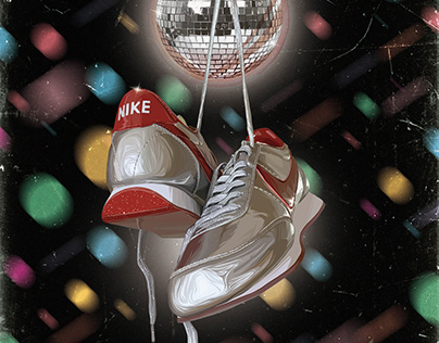 Nike tailwind night track