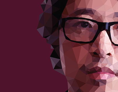 2015 / tutorial – low poly portrait