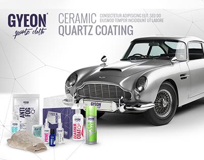 GYEON / Quartz Website