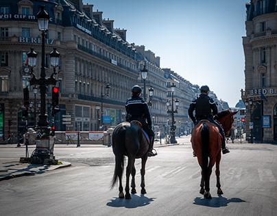 Paris sous COVID19