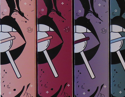 Cosmic Lipstick Pacakging