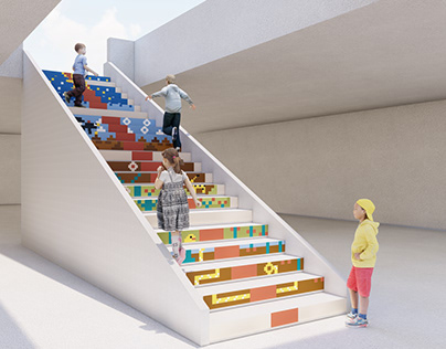 A LADDER inspired by MARIO BROS