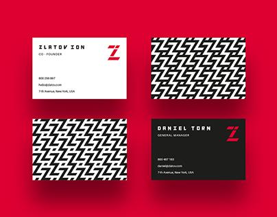 ZI Logo & Identity Design