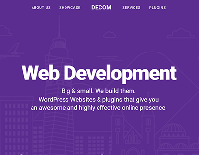 Decom Website Relaunch