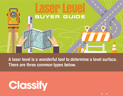 Laser Level Buyer Guide Infographic
