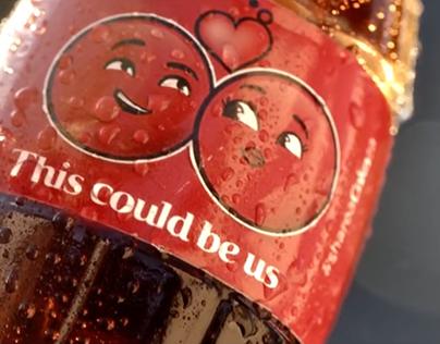 """Coca-Cola """"Share a feeling. Share a Coke"""" Campaign"""