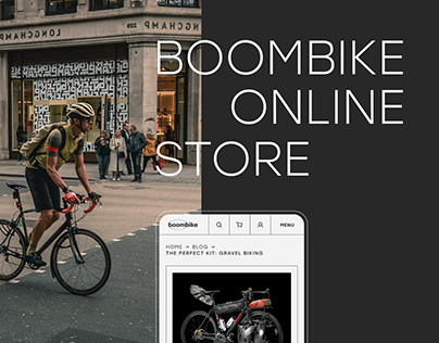 Boombike© — bike accessories e-commerce