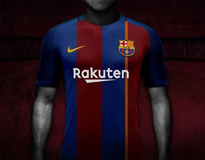 FC Barcelona Football shirts concept design.