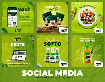 SOCIAL MEDIA PRODUTOS (condimentos)