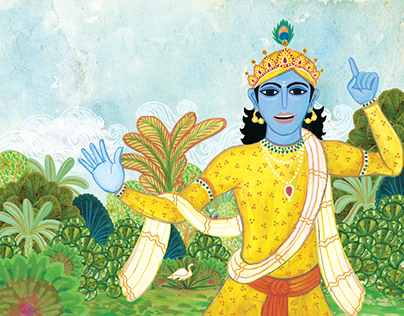 The Mahabharata: Children's Illustrated Classics
