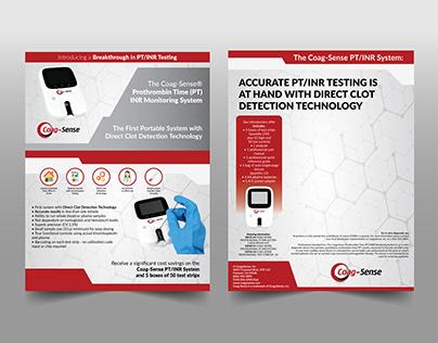 Brochure Design   Coag-Sense
