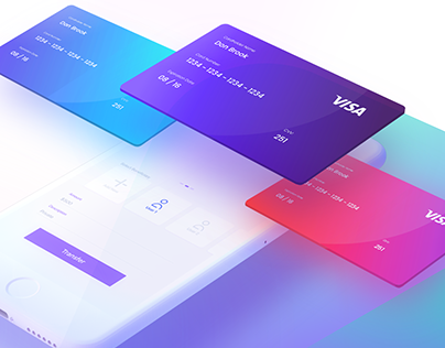 PLUTO BANK | App UI Design